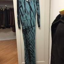 Young Fabulous & Broke Long Sleeve Open Back Maxi Dress L Photo