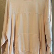 Young Fabulous & Broke Pullover Sweatshirt Sweater Peachy Pink Med Loungewear Photo
