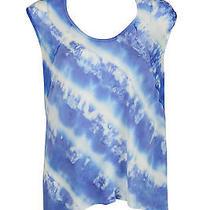 Young Fabulous & Broke Womens Blue Purple Delainey Tie Dye Tank Top Xs 163 New Photo