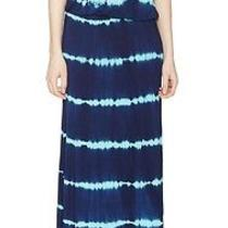 Young Fabulous Straples Green Sailor Stripes Maxi Dress Size S Msrp 189 Photo