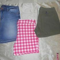 Young Women Shorts Lot Sz 6-7 Vnuc( Boden Bandolino.......). Photo