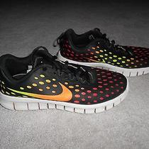 Youth Boys Nike Free Express Athletic Running Tennis Shoes Sneakers Sz 2.5y Photo
