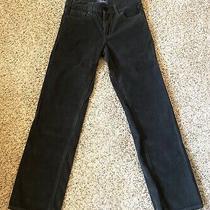 Youth Boys Old Navy Corduroy / Cords Pants 12 Regular Dark Gray Graphite Photo