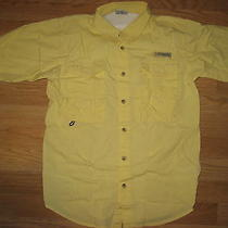 Youth Columbia Fishing Shirt Sz Large Photo