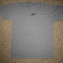Youth Gray Under Armour Heat Gear Shirt Sz Ymd Photo