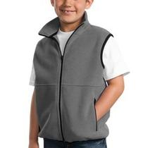 Youth Kids Girls Fleece Vest Boys Fleece Jacket  Vest With Pockets Xs-Xl Yjp79 Photo