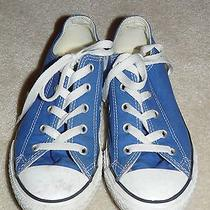 Youth Low Top Chuck Taylor Converse Tennis Shoes - Size 3 Photo