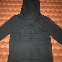 Youth Mens Adidas Hoodie Sweatshirt Size S (8) Photo