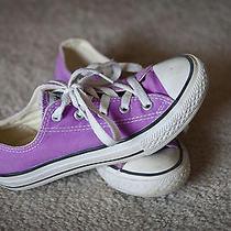 Youth Purple Converse Size 1 Photo