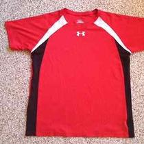 Youth Size Xl Under Armour Fitted Heat Gear Shirt Photo