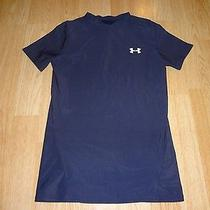 Youth Under Armour L Heat Gear (Navy) Performance Shirt Photo
