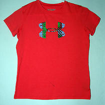 Youth Under Armour Loose Heat Gear Shirt Top - Size Medium Photo
