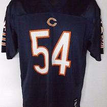 Youth Xl 18-20 Chicago Bears Brian Urlacher 54 Jersey Nfl Reebok Football Team Photo