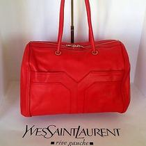 Ysl Lucky Chyc Boston Tote Y-Clover Photo
