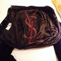 Ysl Rive Gauche Black Velvet  Jacket Photo