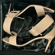 Ysl Saint Laurent Jane Blush Pink 85mm Patent Leather Sexy Sandals Size 8 39 Eu Photo
