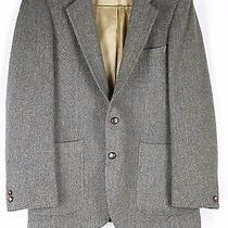 Ysl Yves Saint Laurent Mens Brown Tweed Career Occassion Blazer Made in France  Photo