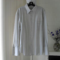 Ysl Yves Saint Laurent Mens  Shirt Size 17 32-33 Photo