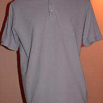 Ysl Yves Saint Laurent Pour Homme Men's Light Purple Polo Shirt Size L Photo