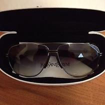 Ysl Yves Saint Laurent Retro Aviators Sunglasses Photo
