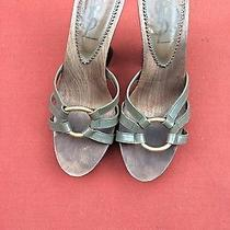 Ysl Yves Saint Laurent Sandals Olive 8 Size Photo