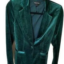 Yumi Kim Emerald Velvet Blazer Sz 0 Photo