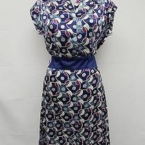 Yumi Kim Multi-Blue/purple 100% Silk Dress Sz S Photo