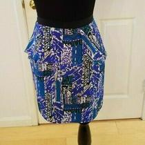 Yumi Kim Peplum Midi Skirt - Size Small Photo