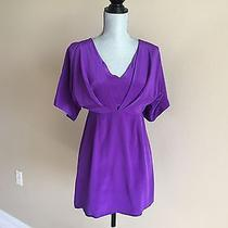 Yumi Kim Purple Night Women's Open Back Mini Dress Size M Photo