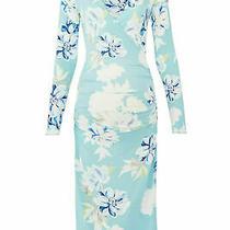 Yumi Kim Womens Dress Blue Size Small S Sheath Maternity Floral Print 168- 058 Photo
