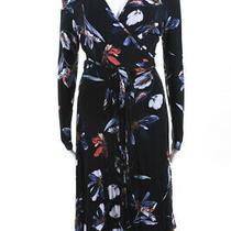 Yumi Kim Womens Full Circle Maternity Wrap Dress Black Size Small 11539513 Photo