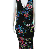 Yumi Kim Womens Hold Tight Floral Maternity Dress Black Size Medium 10964469 Photo