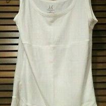 Yummie Tummie Boyfriend Shapewear Tank Top White - Size L - New Without Tags Photo