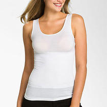 Yummie Tummie Girlfriend Tank Top Shapwear Slimming Size L White Nwt Yt1-090 Photo
