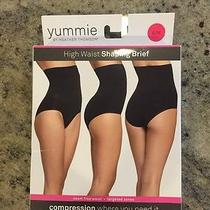 Yummie Tummie High Waist Shaping Brief Black Small Retail 36 Photo