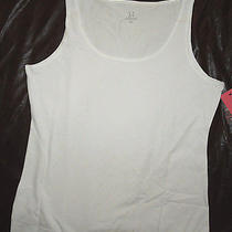 Yummie Tummie Joelle Tank Top White Shaping Shirt  Plus Size 3x  3xl Nwt  Photo