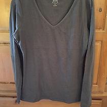 Yummie Tummie Nwt Long Sleeve Charcoal Shaping T-Shirt Size Xl Photo