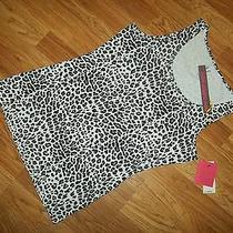 Yummie Tummie Stretch Cotton Joelle Slimming Leopard Tank Top Womens Medium  Nwt Photo