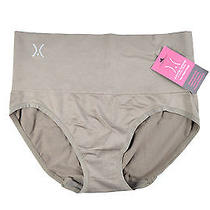 Yummie Tummie Womens M/l Shapewear Brief Panty Beaver Brown Photo