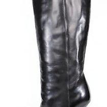 Yves Saint Laurent 1395 Black Leather Tribtoo Platform Boots 37 Photo