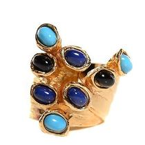 Yves Saint Laurent Arty Dots Ring 7 Gold   Photo