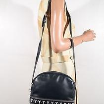 Yves Saint Laurent Blue Leather Cut-Out Y Shoulder Bag Messenger As279 Photo