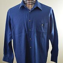 Yves Saint Laurent Blue Wrinkle Resistant Dress Shirt Sz. 16 32-33 Photo