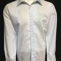 Yves Saint Laurent Blue X-Large (17 1/2 - 34/35) Long Sleeve Button Front Shirt Photo