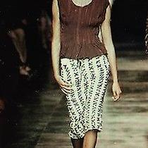 Yves Saint Laurent by Tom Ford Mombasa Collection Corset Lace Skirt Sz 34 Nr Photo