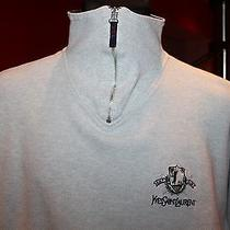 Yves Saint Laurent Golf Club Vintage Mens  Sweatshirt Sizexxl Photo