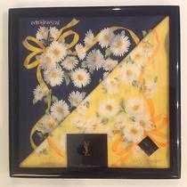 Yves Saint Laurent Handkerchief 2pc Set in Gift Box New With Tag Seal Ysl Photo