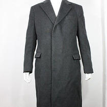 Yves Saint Laurent Jacket M Vintage Coat Gray Wool Vtg Photo