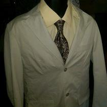 Yves Saint Laurent Jacket Ysl Cotton Button Down Blazer Men 38  Photo