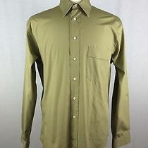Yves Saint Laurent Men's Long-Sleeve Casual Shirt Sz 15 - 32 33 Photo